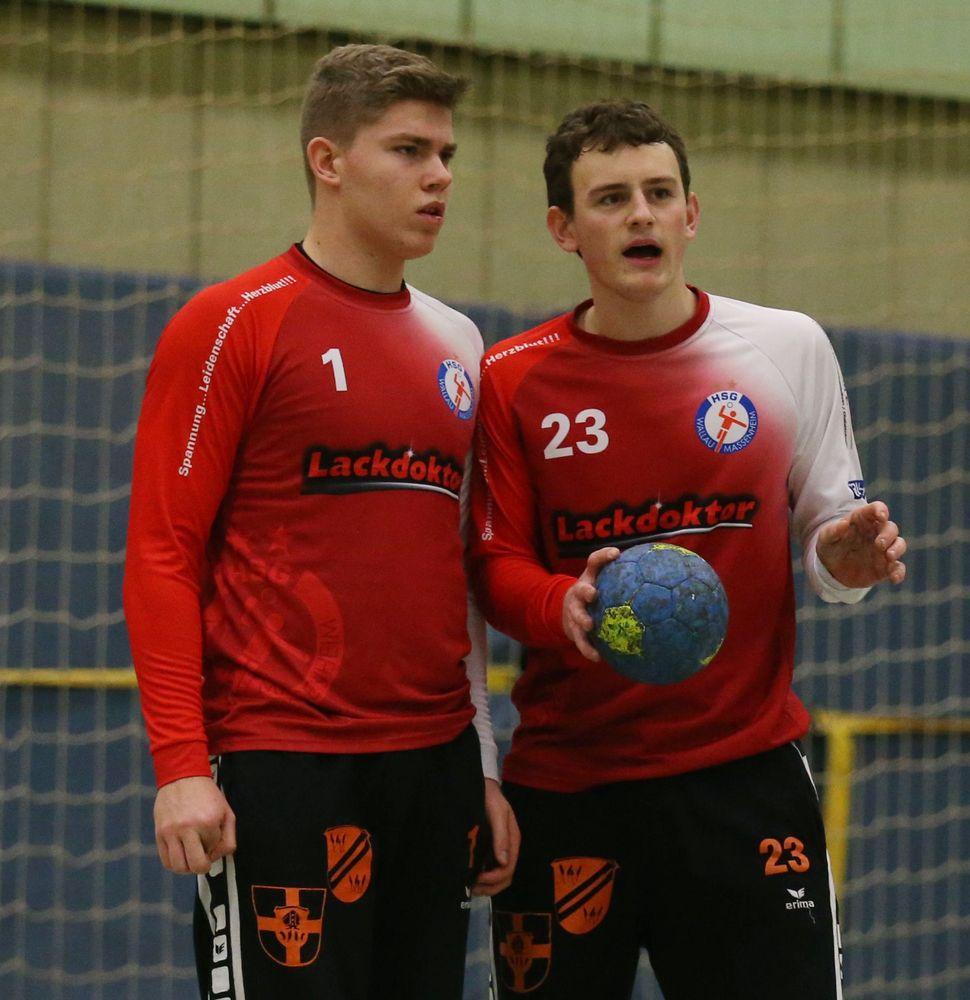 06.02.2018 - Handball A-Jugend Bundesliga Wallau/Massenheim - Wiesbaden ** foto © thomas zöller ** foto ist honorarpflichtig! ** auf anfrage in hoeherer qualitaet/aufloesung