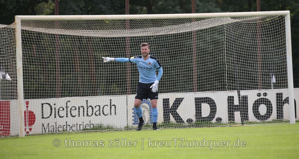 09.09.2017 - Viktoria Griesheim - Borussia Fulda, Tobias Wolf (BF) ** foto © thomas zöller ** foto ist honorarpflichtig! ** auf anfrage in hoeherer qualitaet/aufloesung