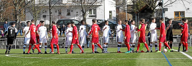 25.02.2017 - Fußball FC Alsbach - Spvgg. Neu-Isenburg ** foto © thomas zöller ** foto ist honorarpflichtig! ** auf anfrage in hoeherer qualitaet/aufloesung