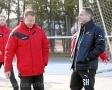 25.02.2017 - Fußball FC Alsbach - Spvgg. Neu-Isenburg, Peter Hoffmann, Sascha Huy, v. li. ** foto © thomas zöller ** foto ist honorarpflichtig! ** auf anfrage in hoeherer qualitaet/aufloesung
