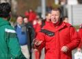 25.02.2017 - Fußball FC Alsbach - Spvgg. Neu-Isenburg, Peter Hoffmann, re. ** foto © thomas zöller ** foto ist honorarpflichtig! ** auf anfrage in hoeherer qualitaet/aufloesung