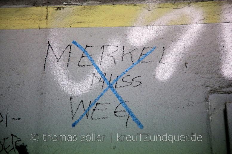 298|365 # 18. august 2017 # merkel muss weg weg